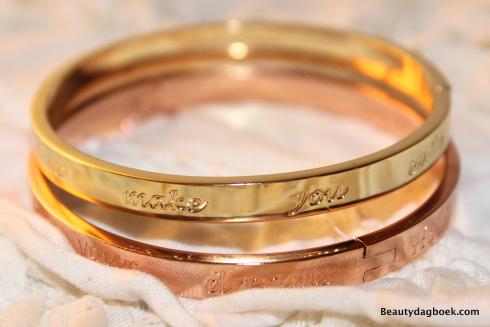 Speechless bracelets beautydagboek