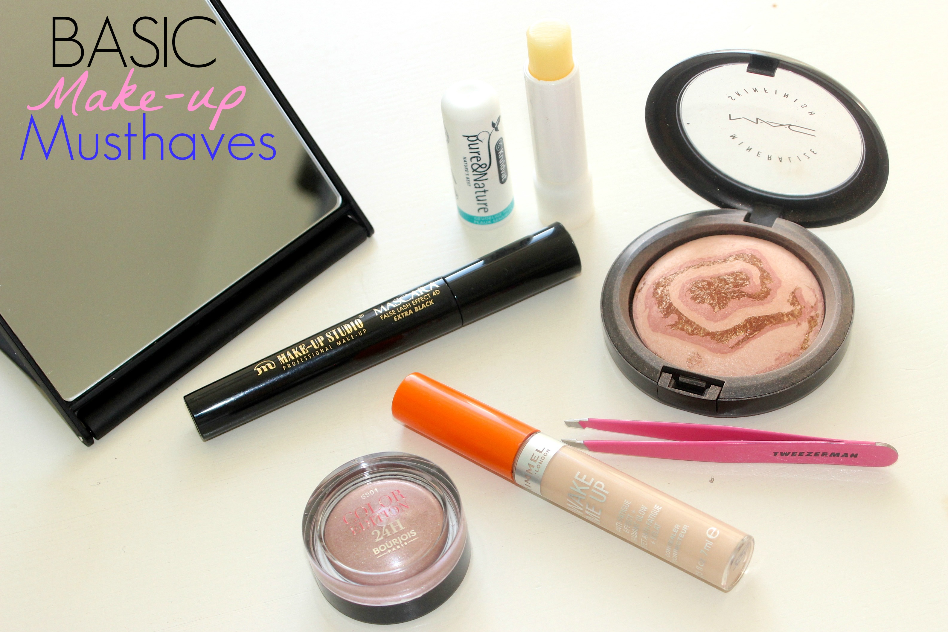 Basic make-up musthaves cover