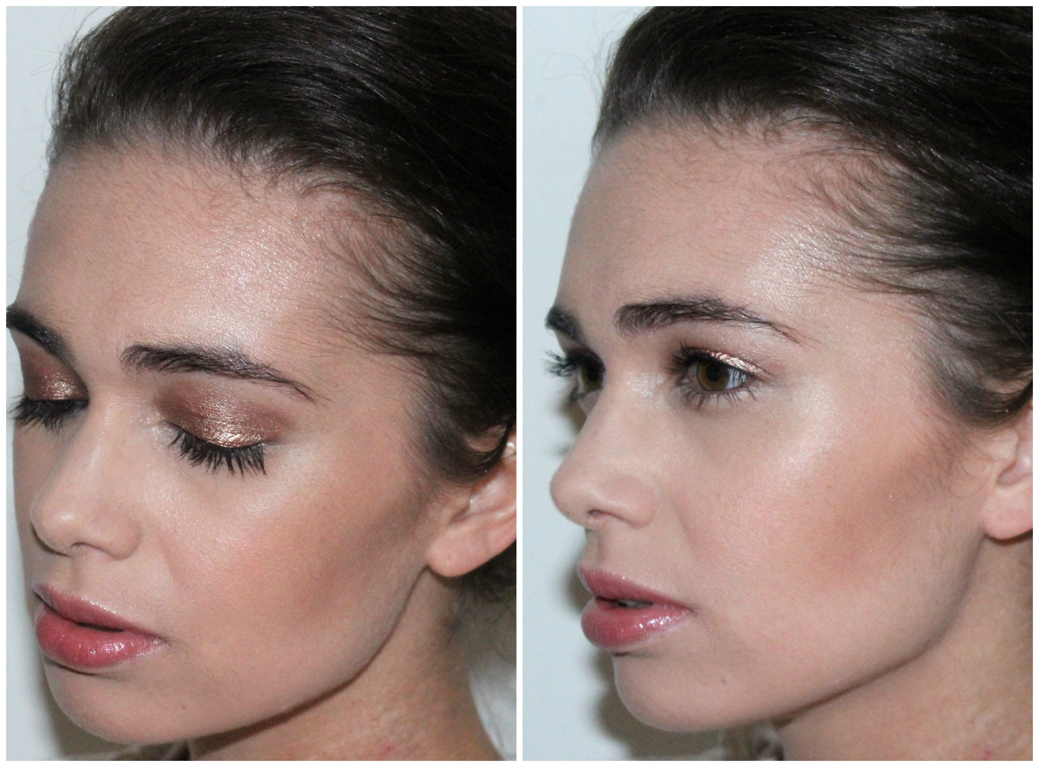 Make-up studio durable eyeshadow mousse be bronze make-uplook Collage