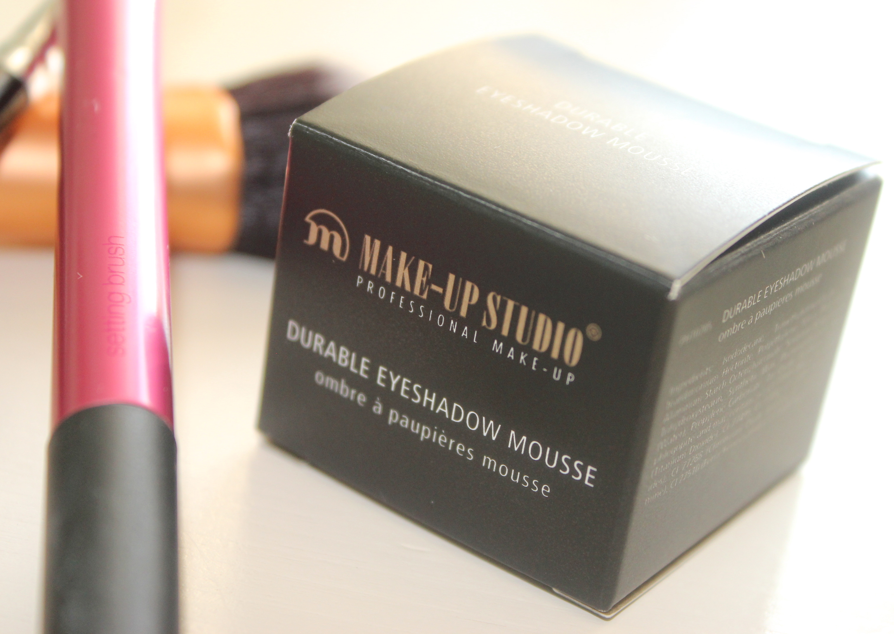 Make-up studio durable eyeshadow mousse be bronze package
