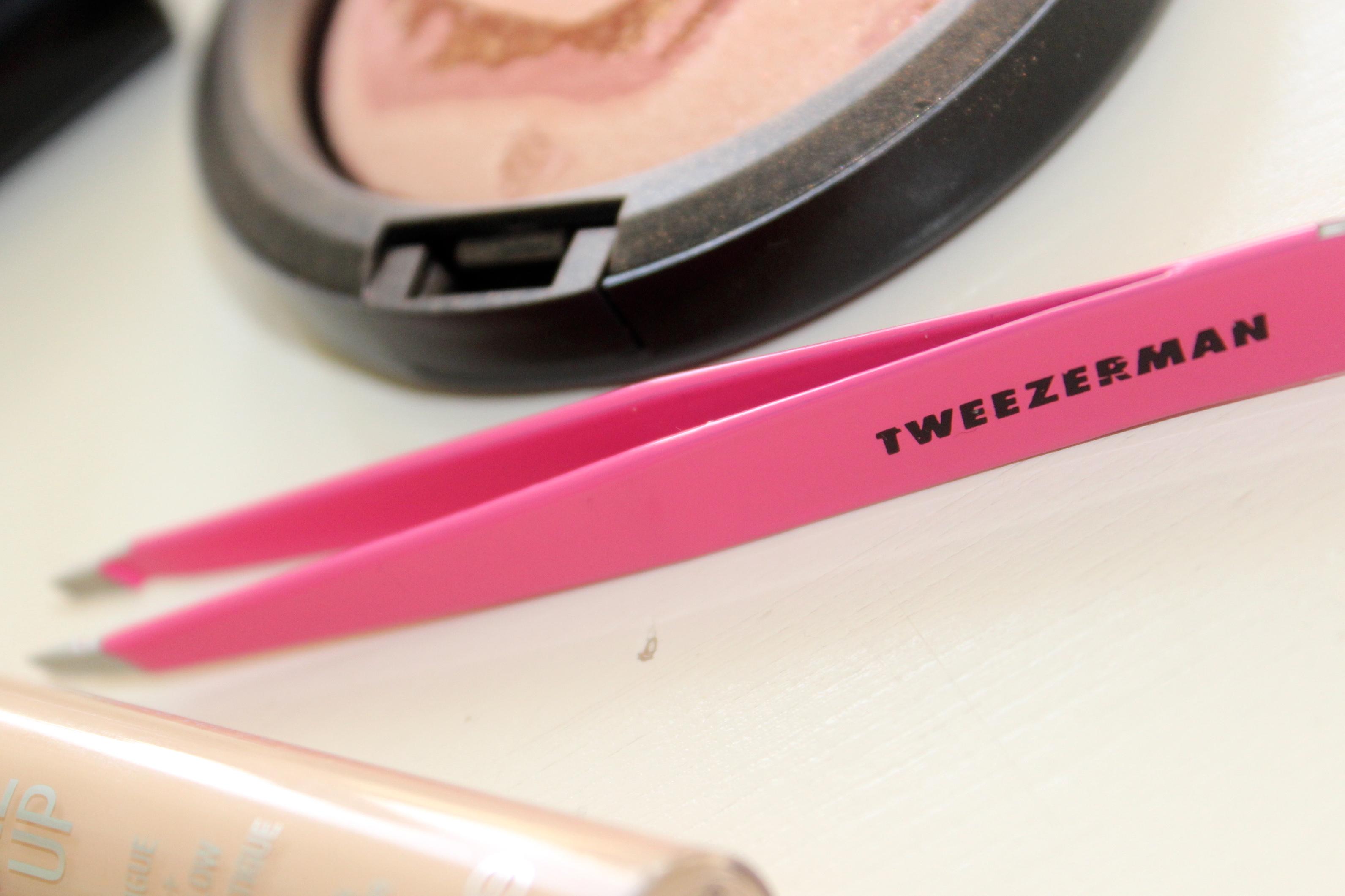 Tweezers Tweezerman pink