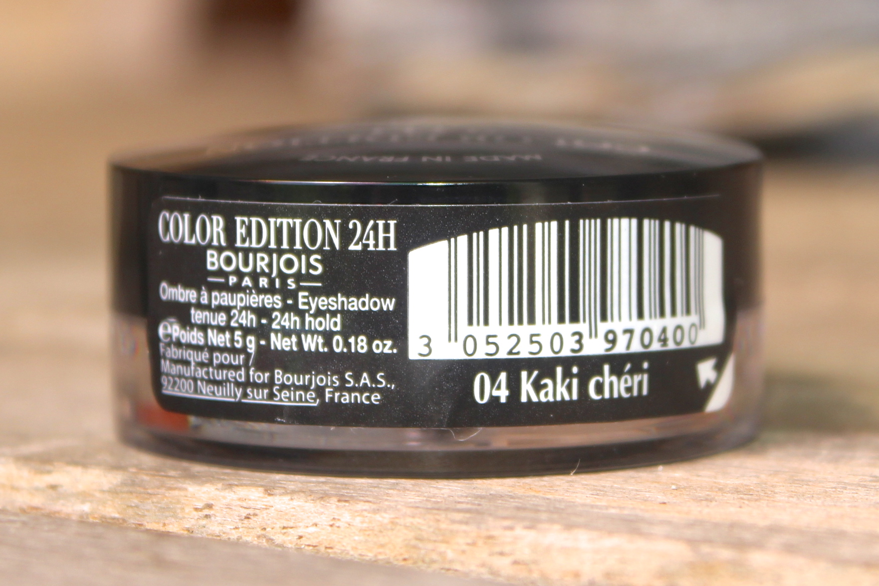 Bourjois Color edition 24h kaki cheri 3