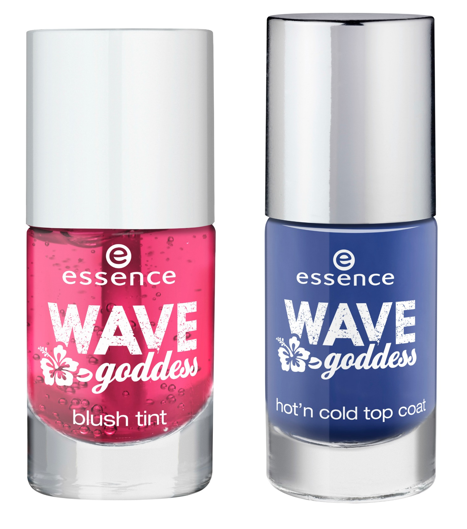 Essence wave goddess blush tint hot'n cold top coat
