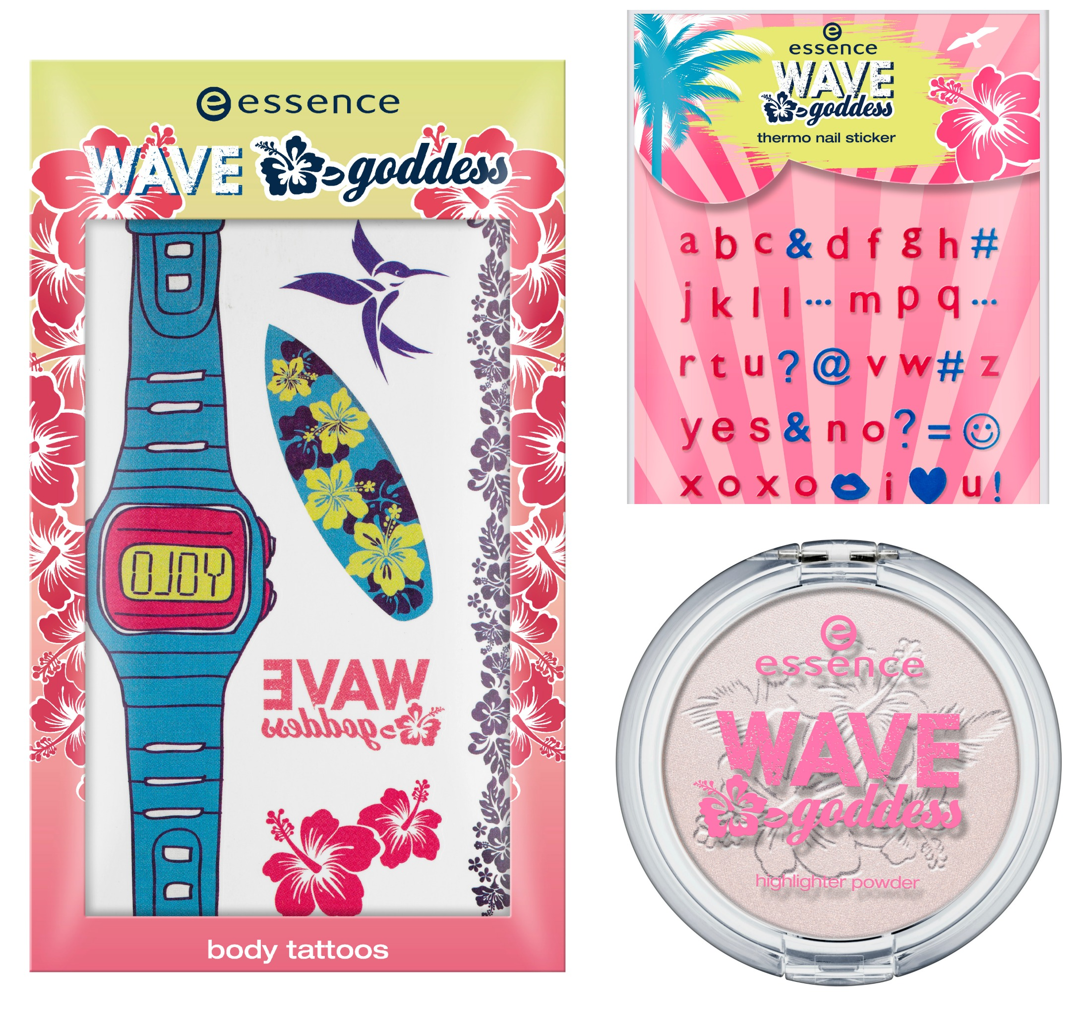Essence Wave Godess highlighter powder