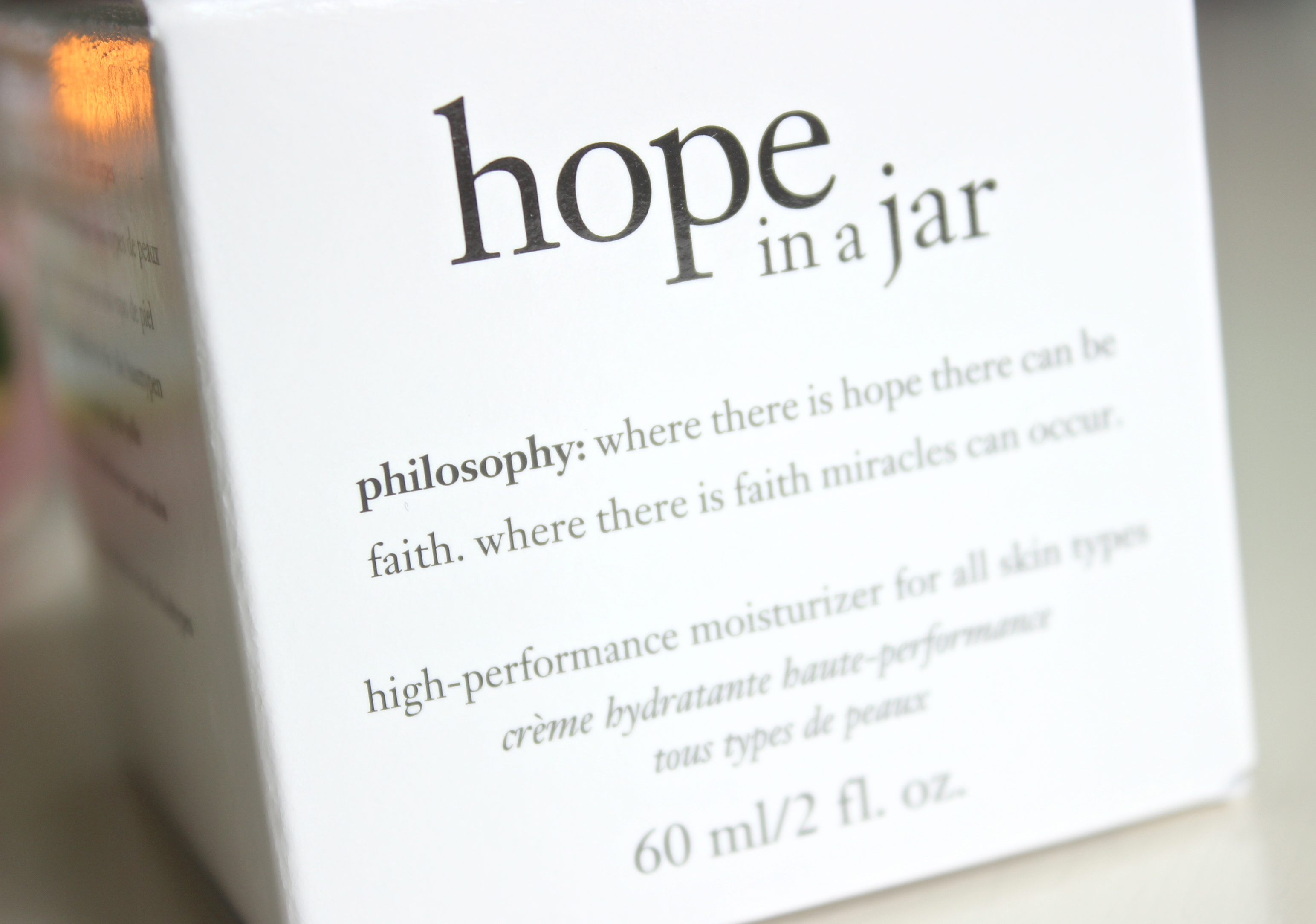 Philosophy Hope in a jar dagcreme 3