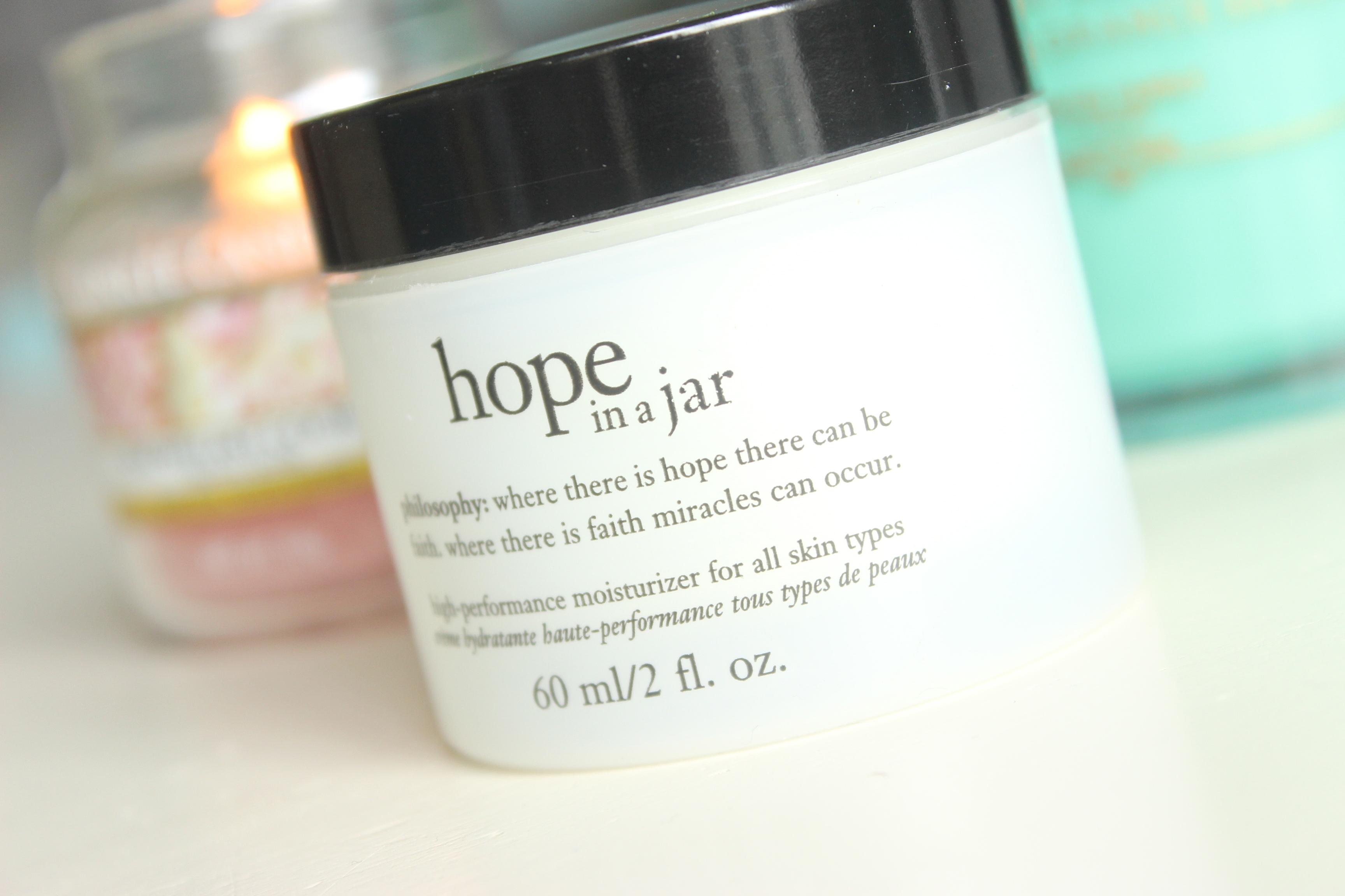 Philosophy Hope in a jar dagcreme eindfoto