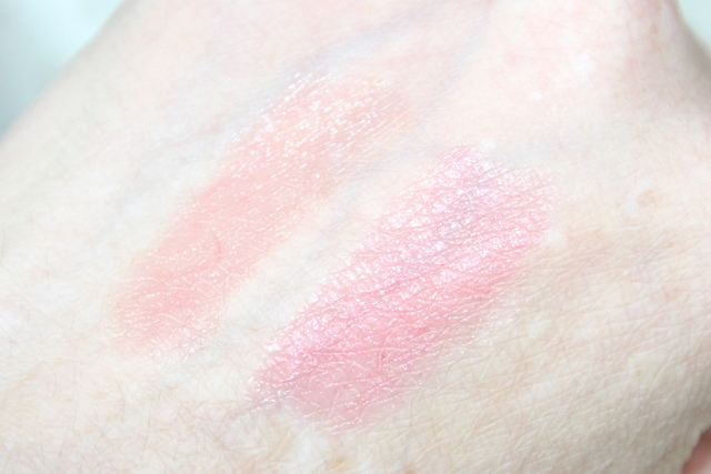 Boots no7 Mini lip treats swatch review 1