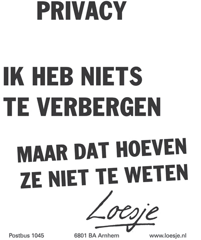 Loesje_Privacy