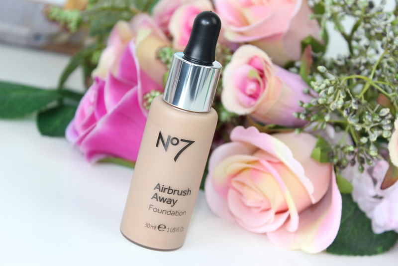 No7 Airbrush Away foundation Wheat review 1