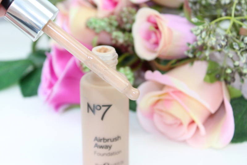 No7 Airbrush Away foundation Wheat review 2