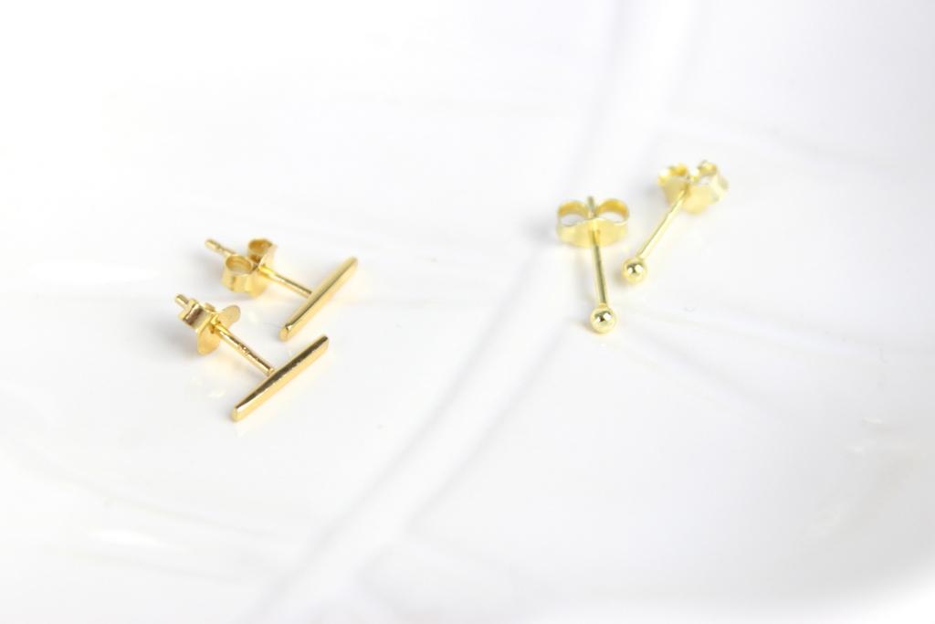 Minimalistische Oorbellen Zilver : Minimalistische sieraden van lucardi try on beautydagboek