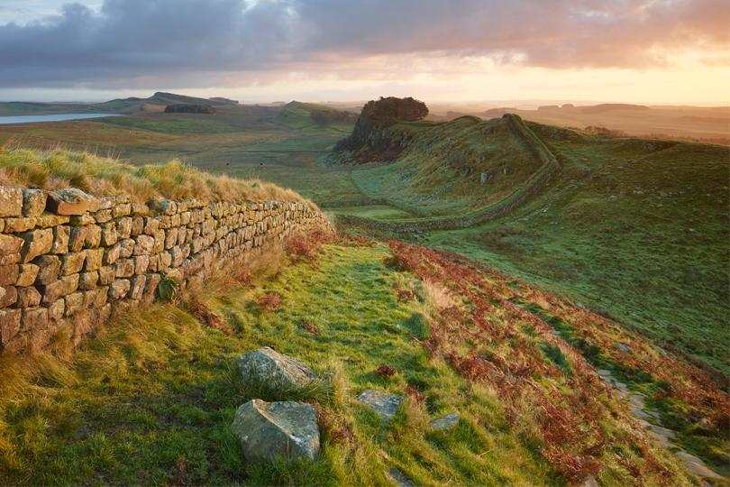 Autovakantie Schotland Hadrian's Wall