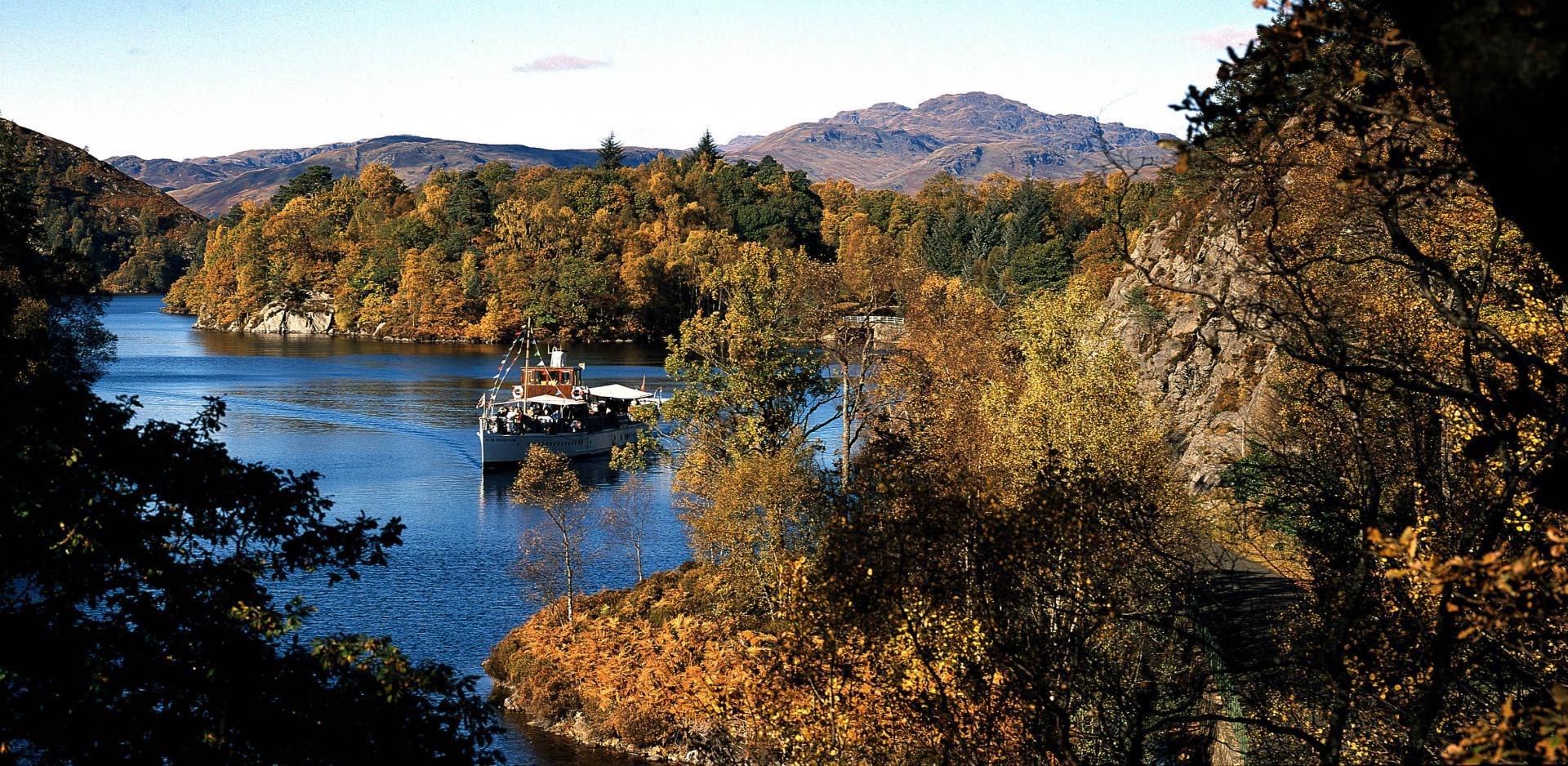 Autovakantie Schotland Loch Lomonds