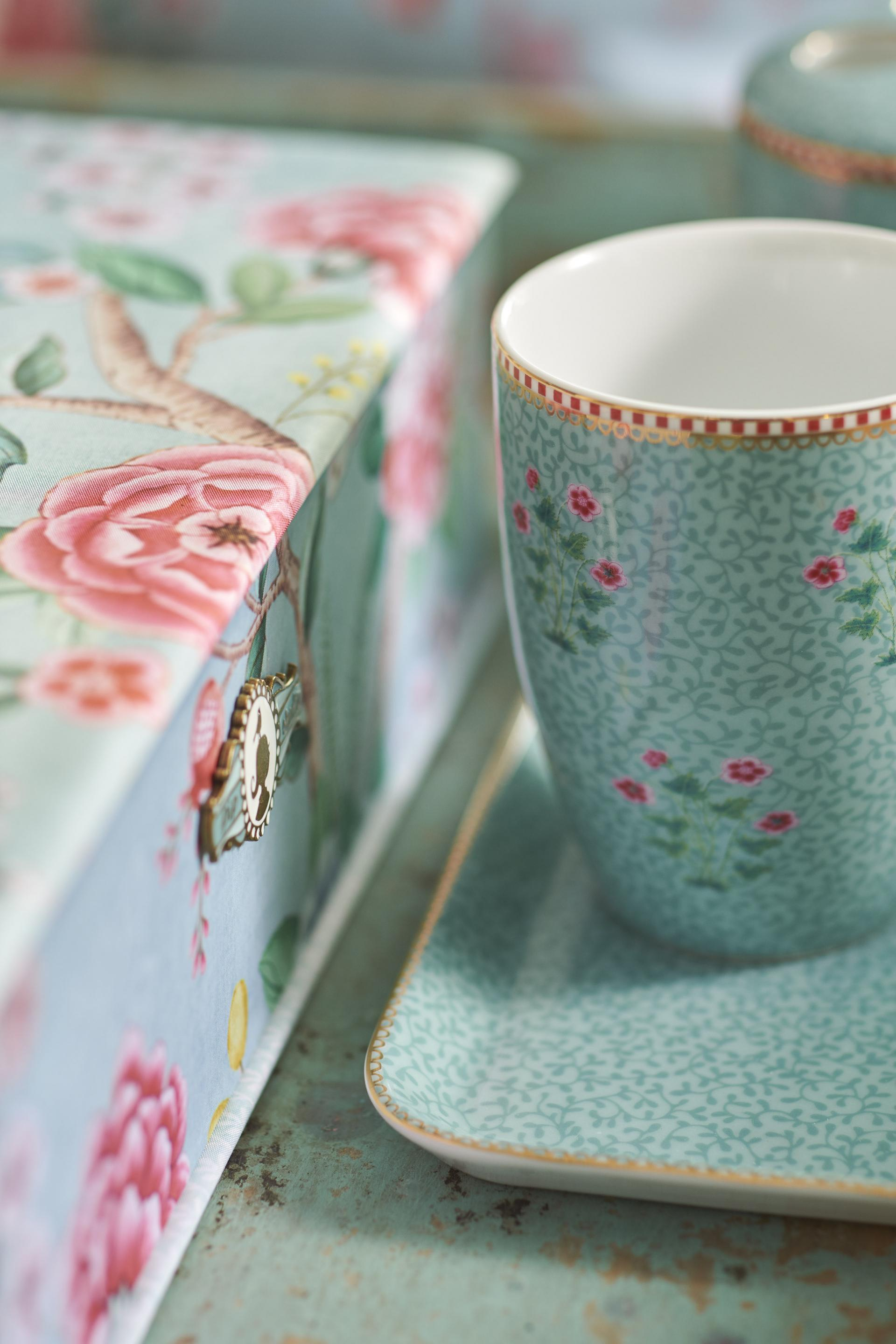Pip Studio Good morning Floral Blue
