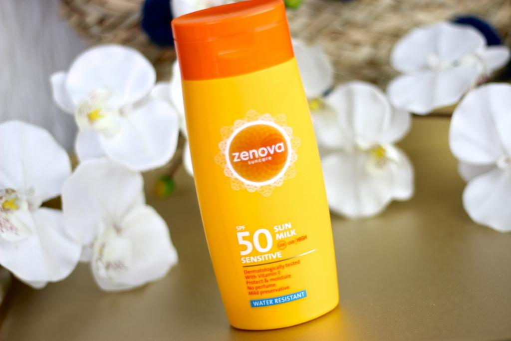Zenova Sun Milk Sensitive SPF 50