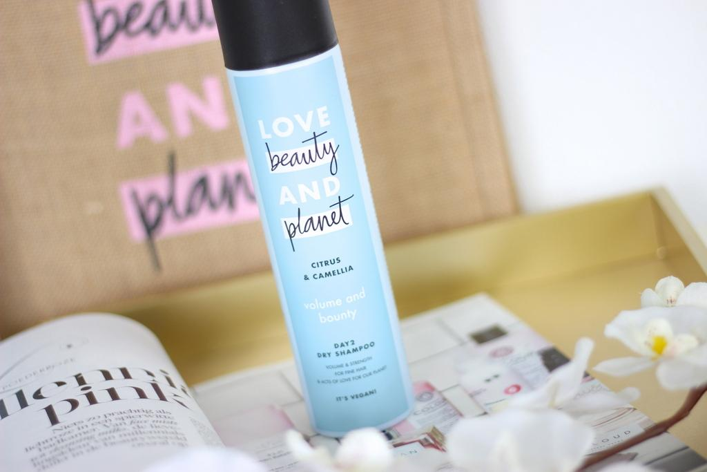Love Beauty and Planet dry shampoo