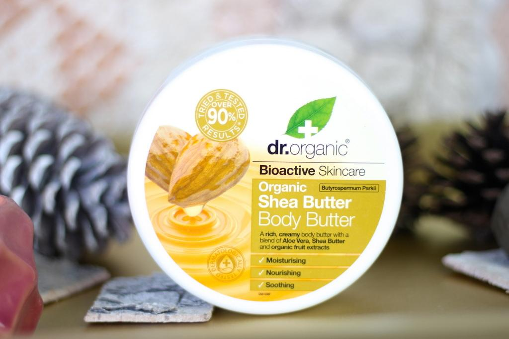 Dr. Organic Shea Butter body butter review