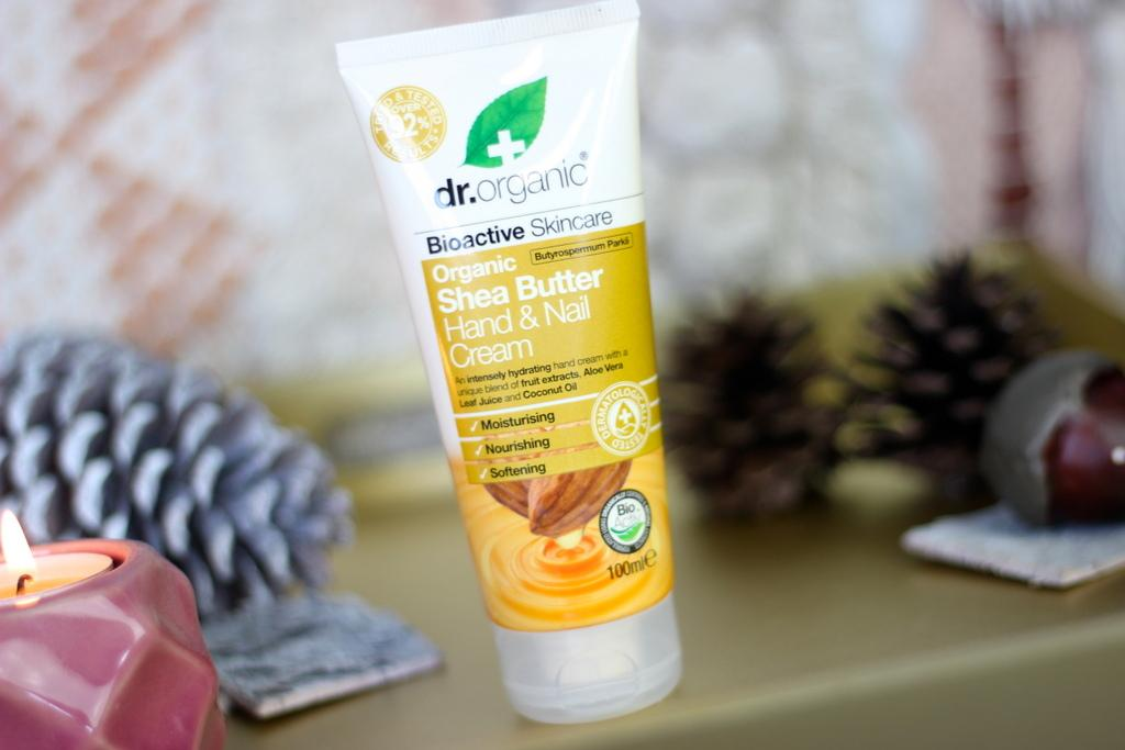Dr. Organic Shea Butter hand & nail cream review