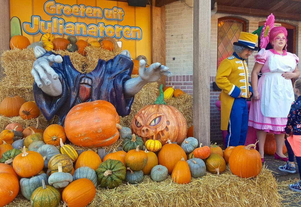 Halloween bij Julianatoren