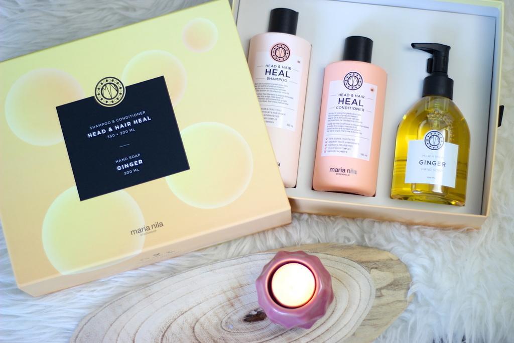 Maria Nila Head & Hair Heal giftbox review