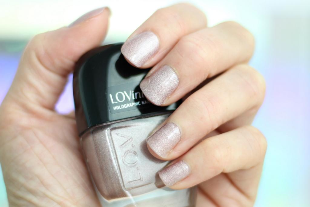 LOVinity Holographic Nail Lacquer N430 review