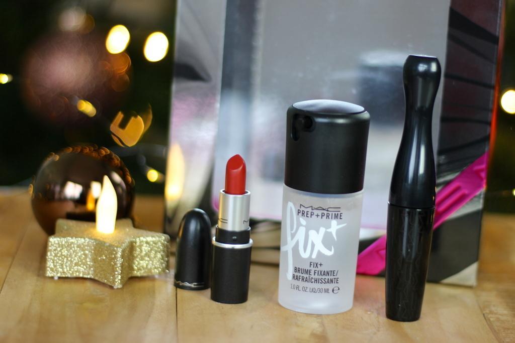 MAC Shiny Pretty Things All Stars kit Chili review