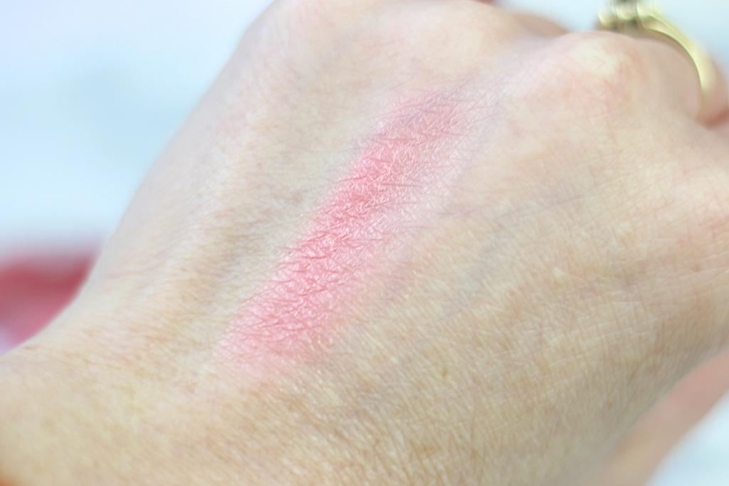 HEMA Beauty Valentijn blush marmer roude swatch
