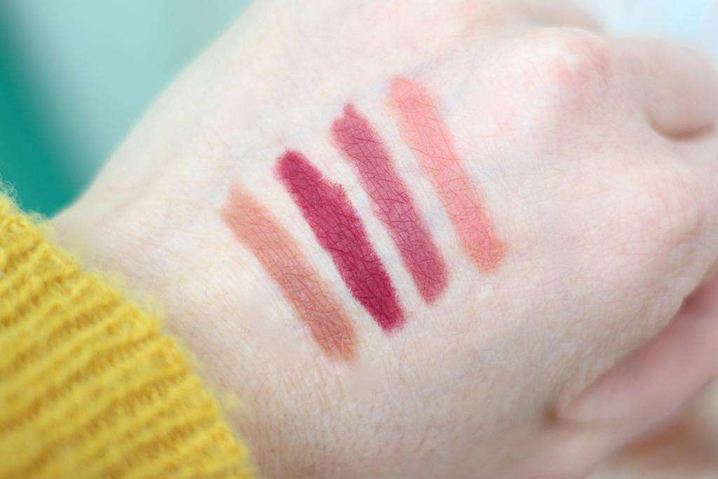 NARS Manic Velvet Matte Lip Pencil Set review