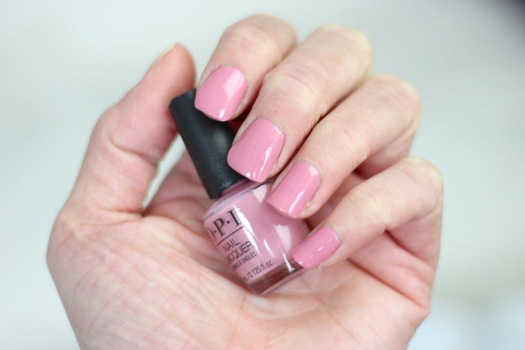 OPI Tokyo collection Rice Rice baby review