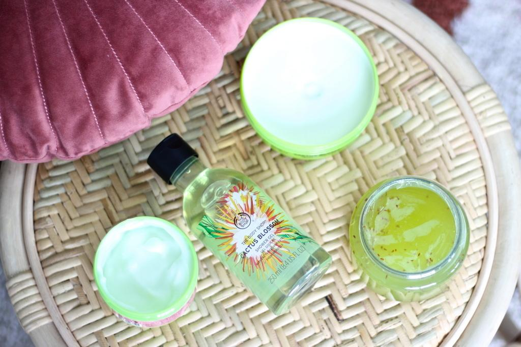 The Body Shop Cactus Blossom shower gel