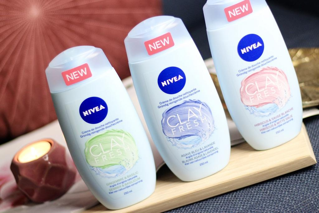 Nivea Clay Fresh douchecrème